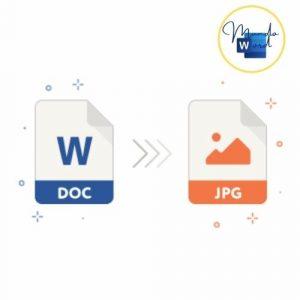 convertir word en jpg